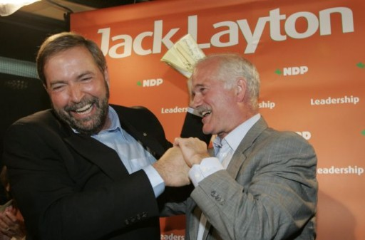 Mulcair Layton