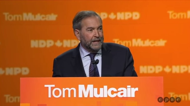 tom mulcair election night