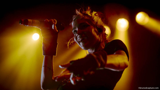 Grimes plays M for Montreal (photo Bruno Destombes)