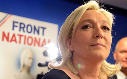 Front National leader Marie Le Pen (image: Al Jazeera)
