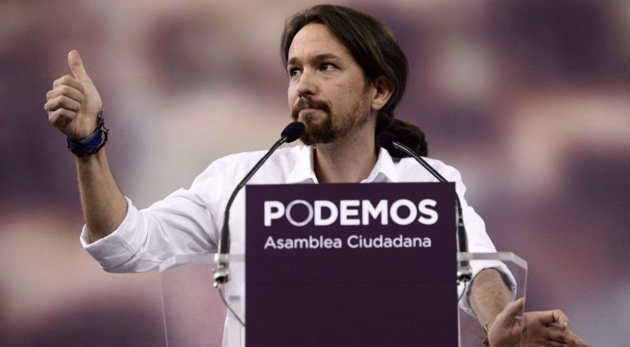Pablo Iglesias podemon spain