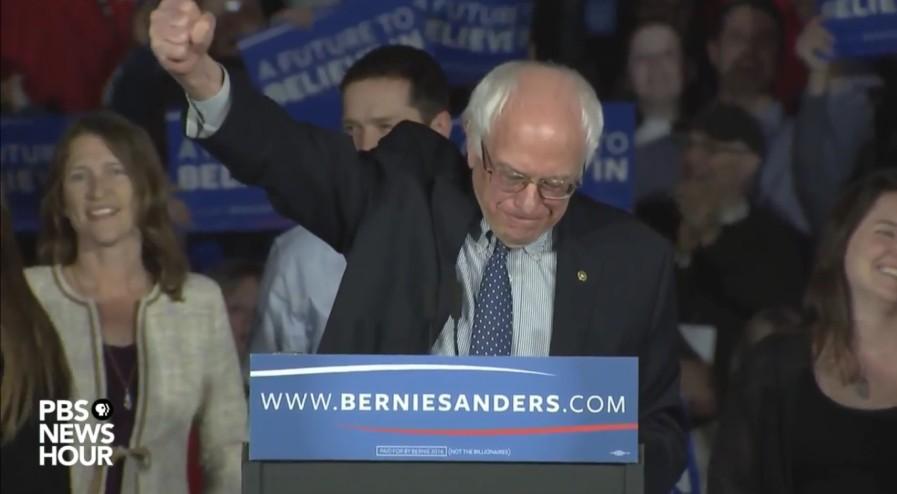 Bernie Sanders Iowa Speech