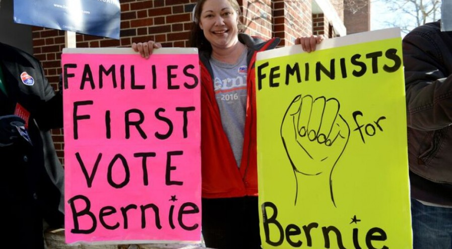 Berning Feminists