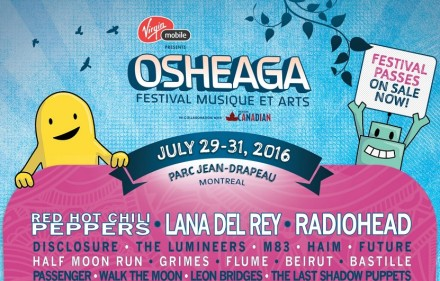 osheaga 2016 lineup top