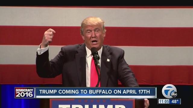 Trump in Buffalo