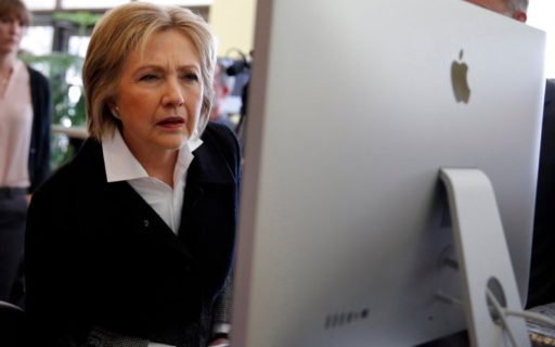 hillary clinton computer