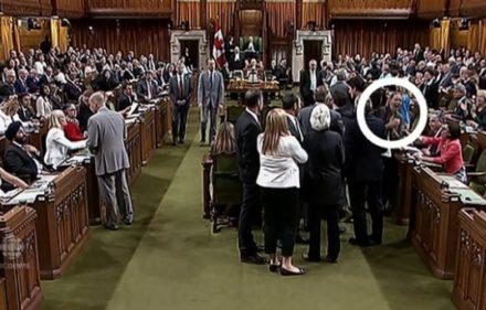 Trudeau elbow elbowgate