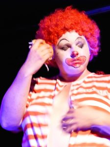 cat mccarthy ronald mcdonald clown burlesque