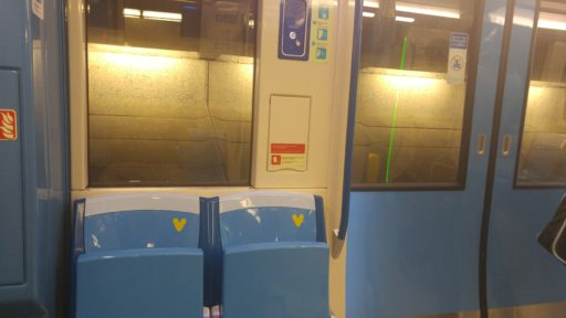 Montreal Metro Azur 6