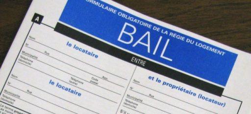 Standard Quebec lease form, image educaloi.qc.ca