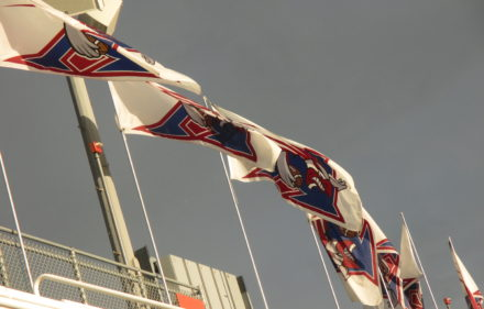 montreal alouettes flags