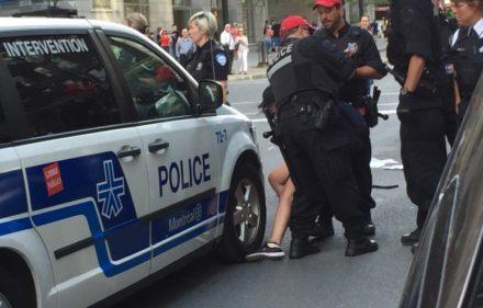 spvm montreal police car