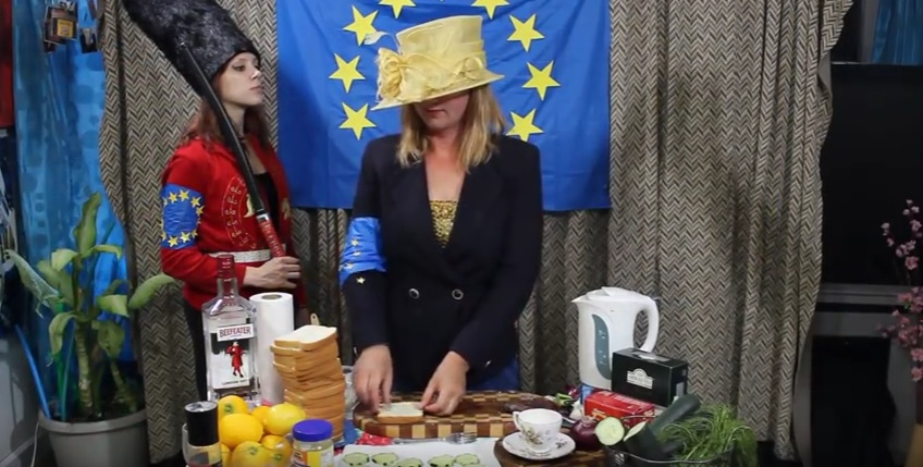 brexit video food