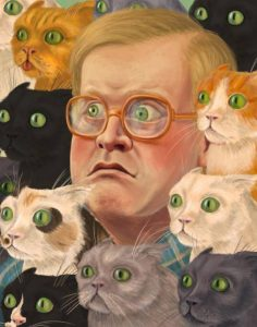 bubbles and cats