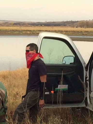 Man identified as an agent provocateur by Tribal Law Enforcement at Standing Rock